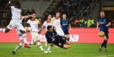 Standaardsituaties helpen Inter na rust langs Benevento