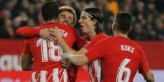 Griezmann helpt Atlético aan zege in zeer doelpuntrijk duel
