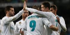 Ronaldo helpt Real Madrid aan zakelijke zege op Getafe