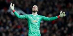 De Gea twijfelgeval bij United voor duel met Liverpool