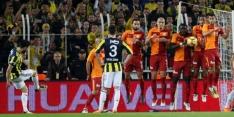 Galatasaray slaat aanval Fenerbahçe af en blijft koploper