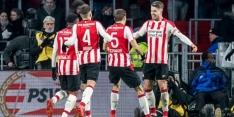 Rode kaart Seuntjens leidt overwinning voor PSV in