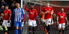 United dankzij Lukaku en Matic naar halve finale FA Cup