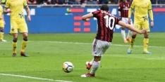 AC Milan na rust langs Chievo, Roma wint bij Crotone