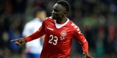 WK-debutant Panama buigt na rode kaart voor Denemarken