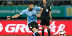 Suárez en Cavani schieten Uruguay naar finale China Cup