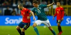 Duitsland en Spanje in evenwicht na mooie treffer Müller