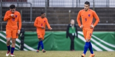 Oranje O19 kan EK vergeten na nederlaag tegen Duitsland