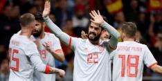 Overtuigend Spanje geeft Argentinië een pak slaag
