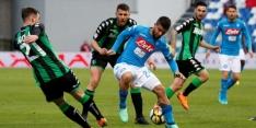 Napoli laat peperdure punten liggen tegen Sassuolo