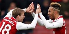 Ondermaats Arsenal neemt laat afstand van Stoke City