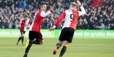 Feyenoord tegen FC Utrecht met Van Persie in de basis