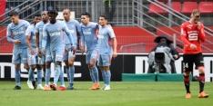 Monaco verliest niet, maar ziet achterstand op PSG oplopen