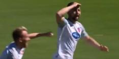 Video: John Verhoek maakt kopie van wereldgoal Zlatan