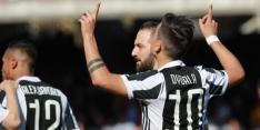 Juventus dankt Dybala bij moeizame zege op Benevento