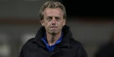 VV Alkmaar zet hoofdtrainer Dijks per direct op non-actief