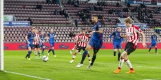 Duel tussen Jong PSV en Go Ahead gestaakt door noodweer