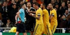 Buffon drie duels geschorst voor wangedrag tegen Real