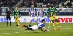 Heerenveen wint dankzij Rojas bloedeloos duel van ADO