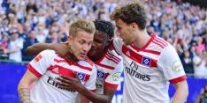 HSV mag blijven hopen, Hoffenheim vernedert Leipzig