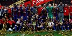 Barcelona laat niks heel van Sevilla in Copa del Rey-finale