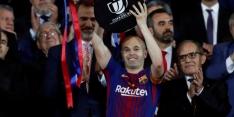 Emotionele afscheidsreceptie van Iniesta bij FC Barcelona
