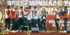 Fotoserie: de huldiging van bekerwinnaar Feyenoord