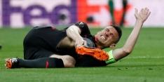 Drama voor Koscielny: verdediger valt uit met zware blessure