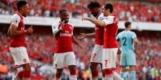 Arsenal maakt show van adieu Wenger, zege Chelsea