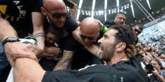 Buffon beleeft groots afscheid in laatste duel voor Juventus