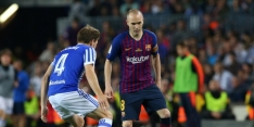 Iniesta sluit zijn tijdperk bij Barcelona af met een zege