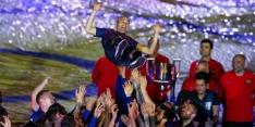 Foto's: het prachtige afscheid van Iniesta bij Barcelona