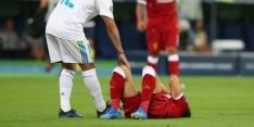 Eerste diagnose Salah: arm uit de kom, ernst onduidelijk