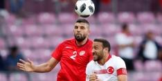 Tunesië en Turkije spelen gelijk in bizar oefenduel