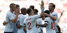 Engeland heeft aan eerste helft genoeg tegen Nigeria