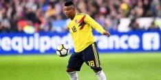 Colombia ziet geblesseerde Fabra afhaken voor WK