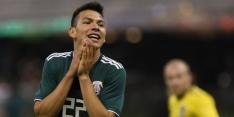 Duitsland zonder Hector, Lozano start bij Mexico
