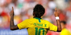 Neymar helpt Brazilië aan kleine oefenzege op Uruguay
