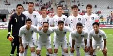 Bondscoach Zuid-Korea verwisselt shirts om Zweden te verwarren