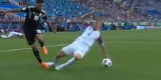 IJsland ontsnapt tegen Argentinië na hands in de zestien