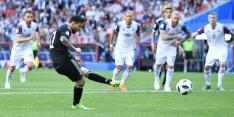 Messi en kwetsbaar Argentinië stellen teleur tegen IJsland