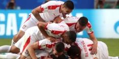 Wonderschone vrije trap van Kolarov bezorgt Servië de zege