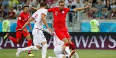 Kane kopt Engeland in blessuretijd naar zege op Tunesië