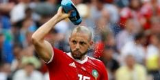 Nordin Amrabat scoort twee keer voor verliezend Marokko