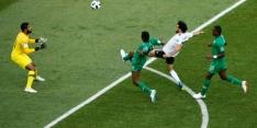 Saudi-Arabië sluit het WK af met zeer late zege op Egypte