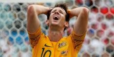 Australië en Van Marwijk naar huis na nederlaag tegen Peru