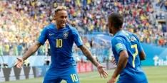 Situatieschets Groep E: Brazilië en Zwitsers op pole