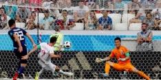 Verliezend Japan komt met schrik vrij dankzij Colombia