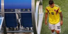 Colombia moet het tegen Engeland stellen zonder James