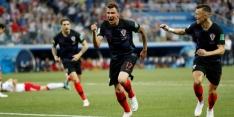 Mandzukic (32) zwaait af als international van Kroatië